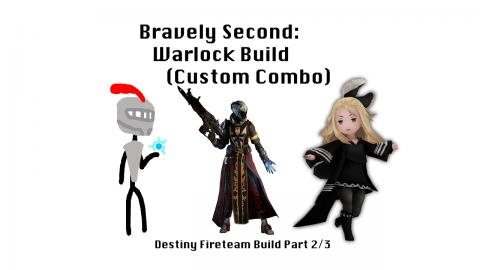 Bravely Second: Warlock Build (Custom Combo) - Destiny Fireteam Build Part 2/3