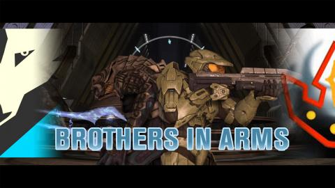 """Brothers In Arms: Red and Wolf Take On Halo 3's """"The Covenant"""" (Heroic)"""