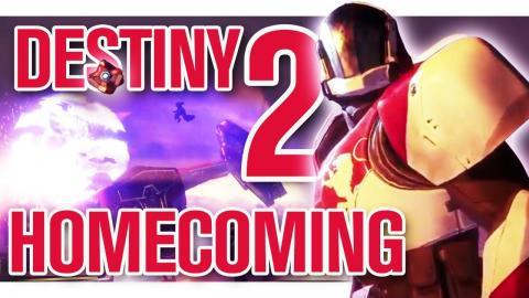 Destiny 2 Beta: Homecoming Mission