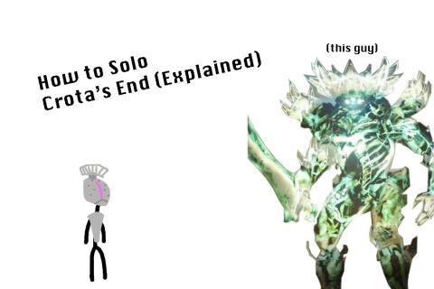 Destiny: How To Solo Crota's End