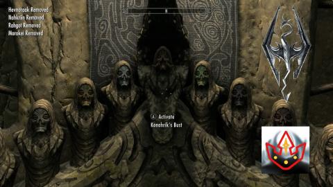 Skyrim: MLG Labyrinthian Clear