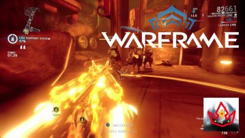 Warframe: (11) Level 4 Valkyr Prime VS Mastery Rank 7 Test
