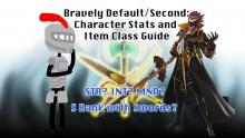 Bravely Default/Second: Character Stats and Item Class Guide