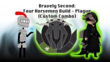 Bravely Second: Four Horsemen Build - Plague (Custom Combo)
