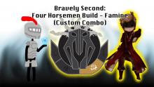 Bravely Second: Four Horsemen Build - Famine (Custom Combo)