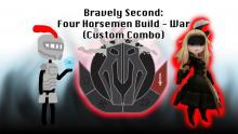 Bravely Second: Four Horsemen Build - War (Custom Combo)