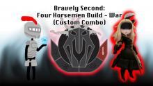 Bravely Second: Four Horsemen Build - War (Custom Combo)