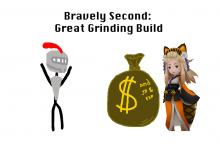 Bravely Second: Great Grinding Build (JP, EXP, and PG)
