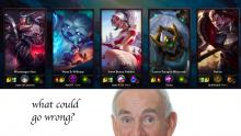 My friends and I had the greatest game of ARAM in League of Legends History